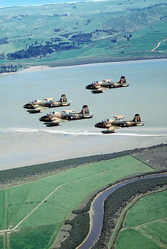 No. 14 Squadron RNZAF - RNZAF Strikemasters in 1984