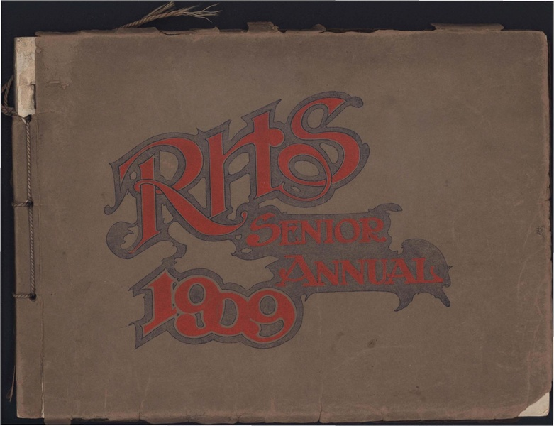 File:Racine High School Senior Annual 1909.pdf
