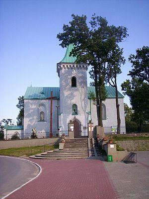 Radoszyce, Świętokrzyskie Voivodeship - Image: Radoszyce kościół