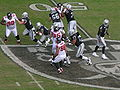 Raiders on offense at Atlanta at Oakland 11-2-08 07.JPG