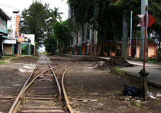 Rail transport in Costa Rica