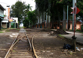 Rail transport in Costa Rica - Universidad de Costa Rica Station, San Pedro, Montes de Oca.