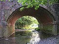 Railway arch allowing the Beaulieu River to pass under the tracks (1) - geograph.org.uk - 25402.jpg