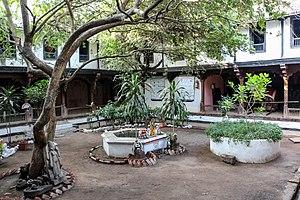 Ahilyabai Holkar - Courtyard of the royal palace (Rajwada), Maheshwar