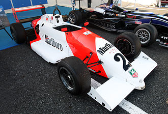 Mika Häkkinen - A Ralt RT34 driven by Häkkinen in the 1990 Macau Grand Prix