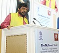 """Ramdas Athawale addressing at the inauguration of a """"National Conference on Autism"""", organised by National Trust, on the occasion of the World Autism Awareness Month, in New Delhi.jpg"""