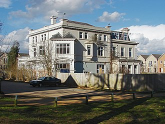 RAF Staff College, Bracknell - Ramslade House in 2015 prior to demolition. The building was home to the RAF Staff College, Bracknell.