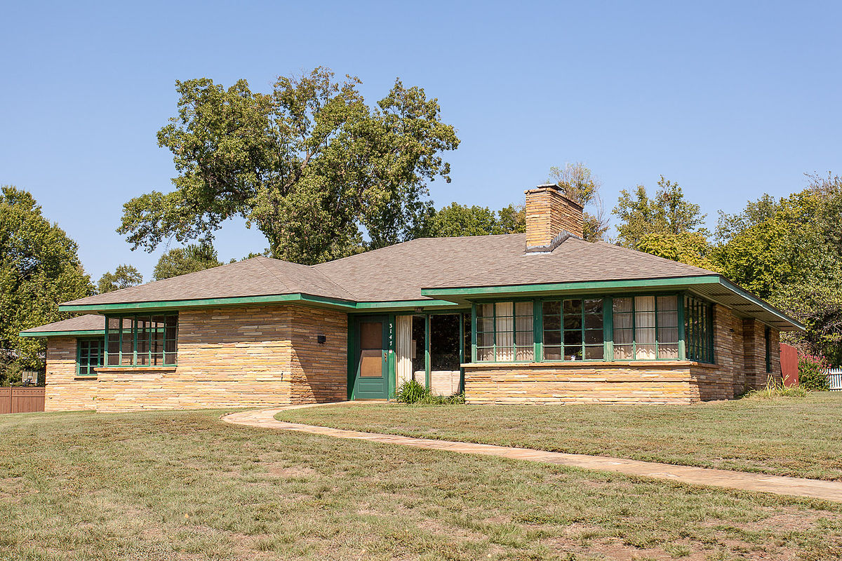 Ranch acres historic district tulsa wikipedia - What is a ranch house ...