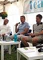 Rando Värnik (keskel) Arvamusfestivalil 2020. aastal.jpg
