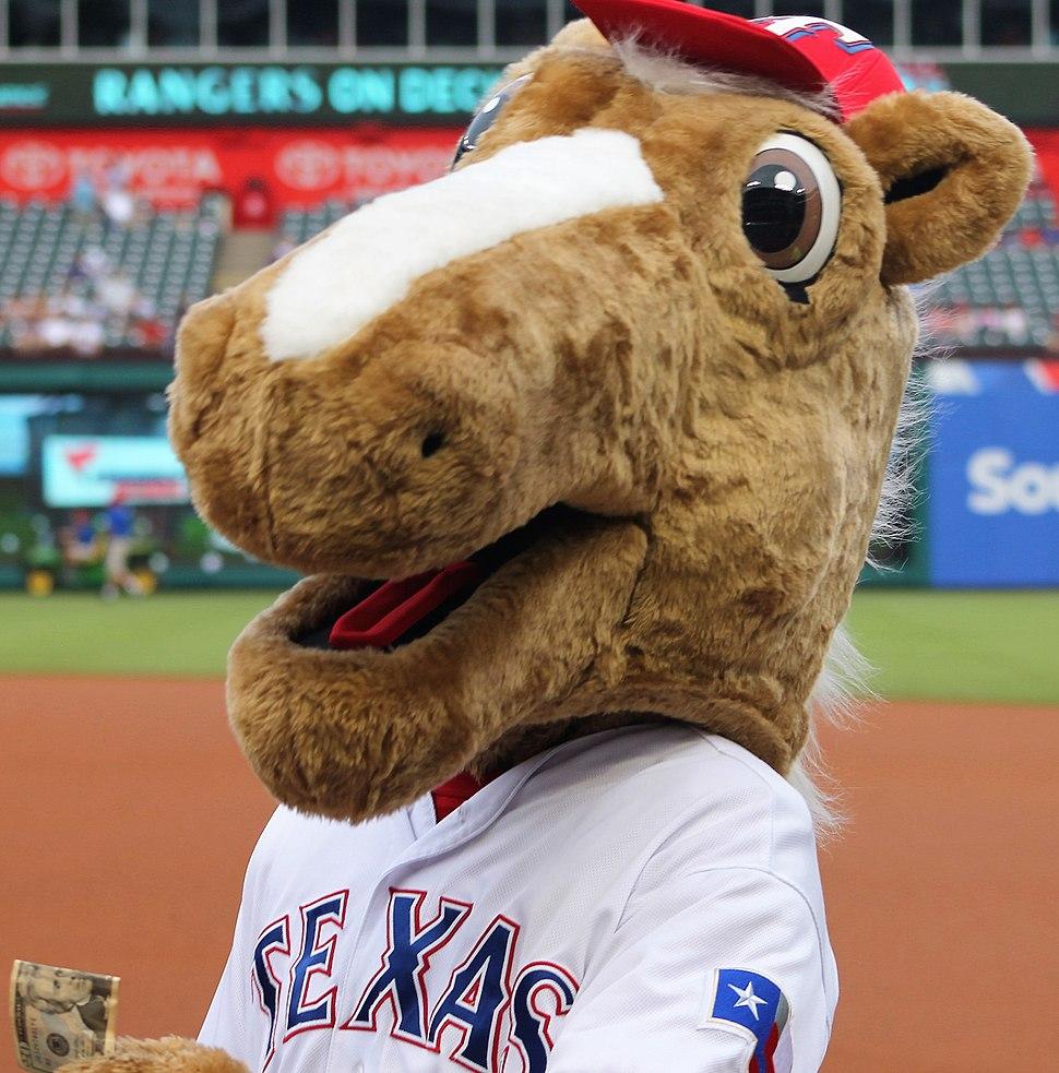 Rangers Captain team mascot May 23 2016