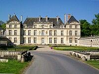 Raray (60), château et balustrade XVIe et XVIIe s., classés M.H..jpg