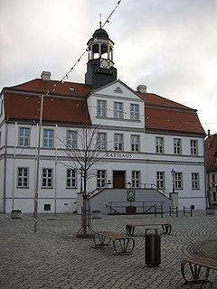 Bad Düben Place in Saxony, Germany