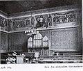 Real-Gymnasium an der Klosterstraße, Düsseldorf, Aula mit Wandgemälde von Eduard Bendemann, ganz 1.jpg