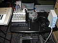 Recording equipments, Studio Pic 2, 2009-04-20 (by Jordan Colburn).jpg