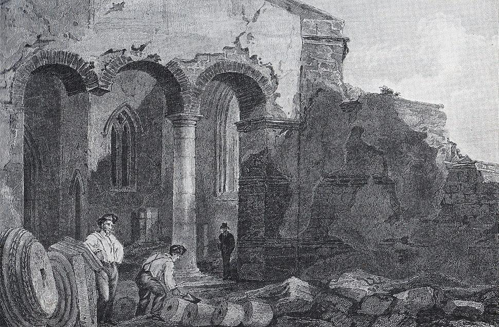 Demolishing the church