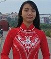 Red Ao dai (crop waist).JPG