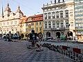 Reko TT Malostranské náměstí, Malostranské náměstí, práce.jpg