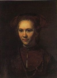 Rembrandt follower - Portrait of a Young Girl.jpg