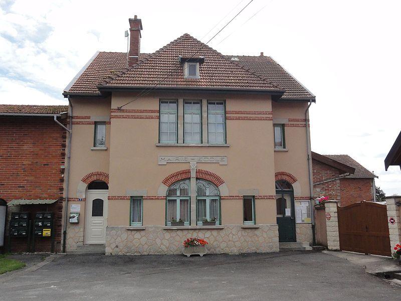Remennecourt (Meuse) mairie-école