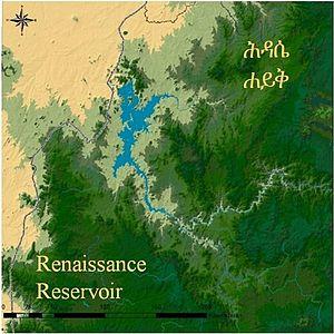 Grand Ethiopian Renaissance Dam - Renaissance Reservoir