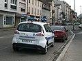 Renault Scénic, police municipale de Strasbourg, Neudorf 1 - janvier 2014.JPG