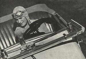 Hélène Boucher - ... and driver