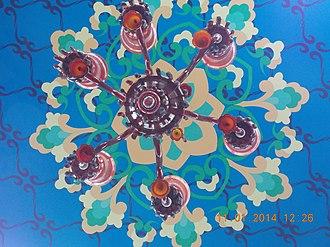 Ghalib ki Haveli - Image: Renovated roof Ghalib ki Haveli