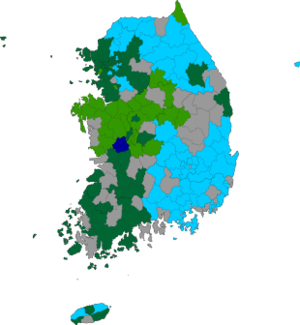 Republic of Korea local election 1998 results map.png