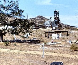 Johannesburg, California - Rand District Cemetery