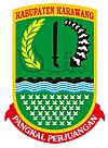 Official seal of Karawang Regency