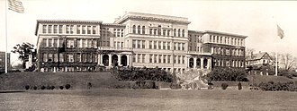Martin & Hall - Rhode Island Normal School, Providence, RI. 1895. Demolished.