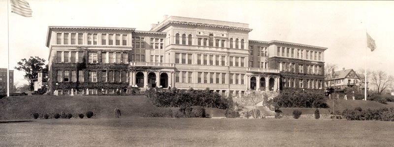 Rhode Island Normal school ca 1909