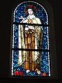 Rhodes (Moselle) église, vitrail sainte Thérèse de Liseux.jpg