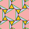 Rhombitrihexagonal tiling snub edge coloring nonuniform.png