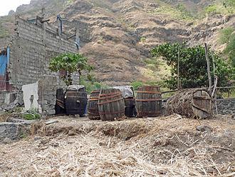 Ribeira Principal - A distillery for making grogue, Ribeira Principal being a notable grogue producing area