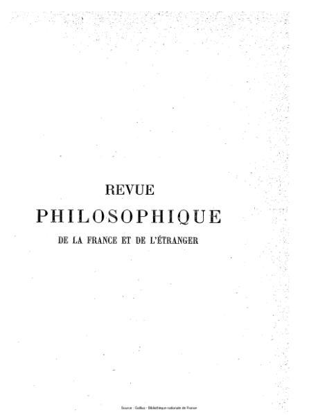 File:Ribot - Revue philosophique de la France et de l'étranger, tome 45.djvu