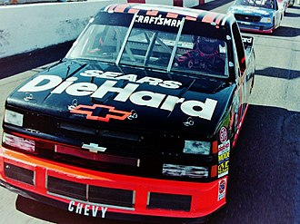Darrell Waltrip Motorsports - Rich Bickle driving the DarWal Chevrolet in 1997