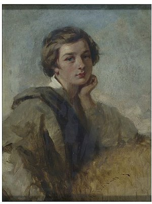 Richard Buckner (artist) - Image: Richard Buckner Portrait of a boy