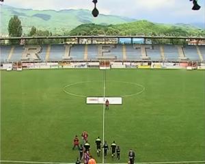 Stadio Centro d'Italia – Manlio Scopigno - Image: Rieti L'Aquila 21.5.2017 01