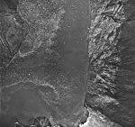 Riggs Glacier, tidewater glacier terminus and striations in the rocks, August 25, 1968 (GLACIERS 5852).jpg