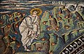 Right side of the Presbytery, Moses is about to enter the burning bush, Basilica of San Vitale, Ravenna, Italy.jpg
