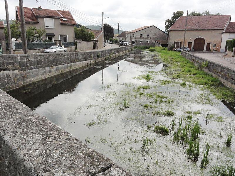 Rigny-la-Salle (Meuse) Aroffe (Ruisseau de la Beaumelle)