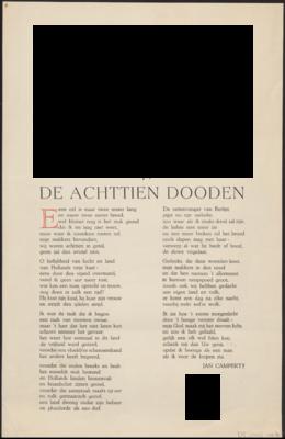 Het Lied Der Achttien Dooden Wikipedia