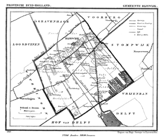 Rijswijk - Rijswijk in 1867.