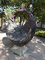 Ring sculpture by Laszlo Szatmari Juhos, 2016 Szekszard.jpg