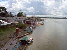 Rio Napo in Francisco de Orellana.jpg