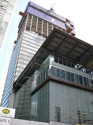 Ritz-Carlton Toronto - Image: Ritz Carlton Toronto construction