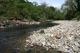 Der River Greta bei Kepp House