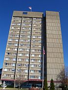Riverviews tower, New Albany Indiana