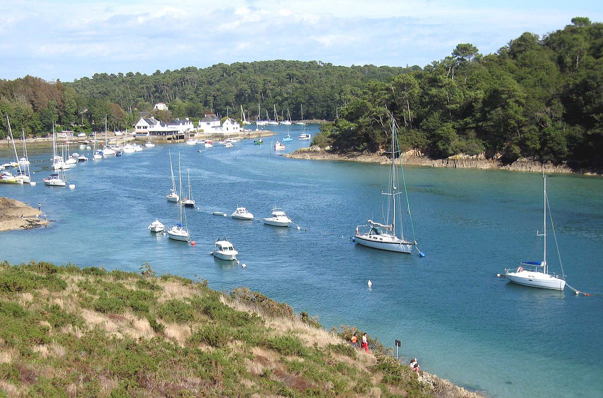 Carte Bretagne Riec Sur Belon.Belon Fleuve Wikipedia